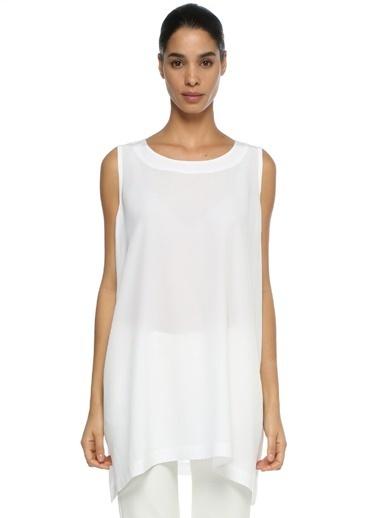 Eskandar Bluz Beyaz